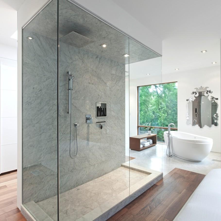 Интерьер деревянного дома в стиле модерн: модернистская лёгкость от Rzlbd Atelier