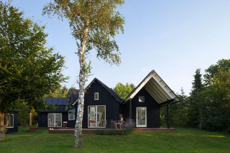 Дома в скандинавском стиле: проекты и фото датского сельского дома