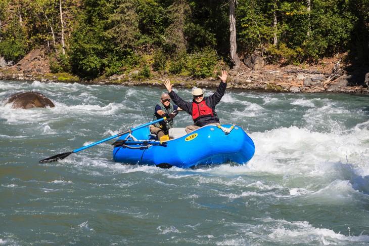 как называется лодка для сплава по горным рекам
