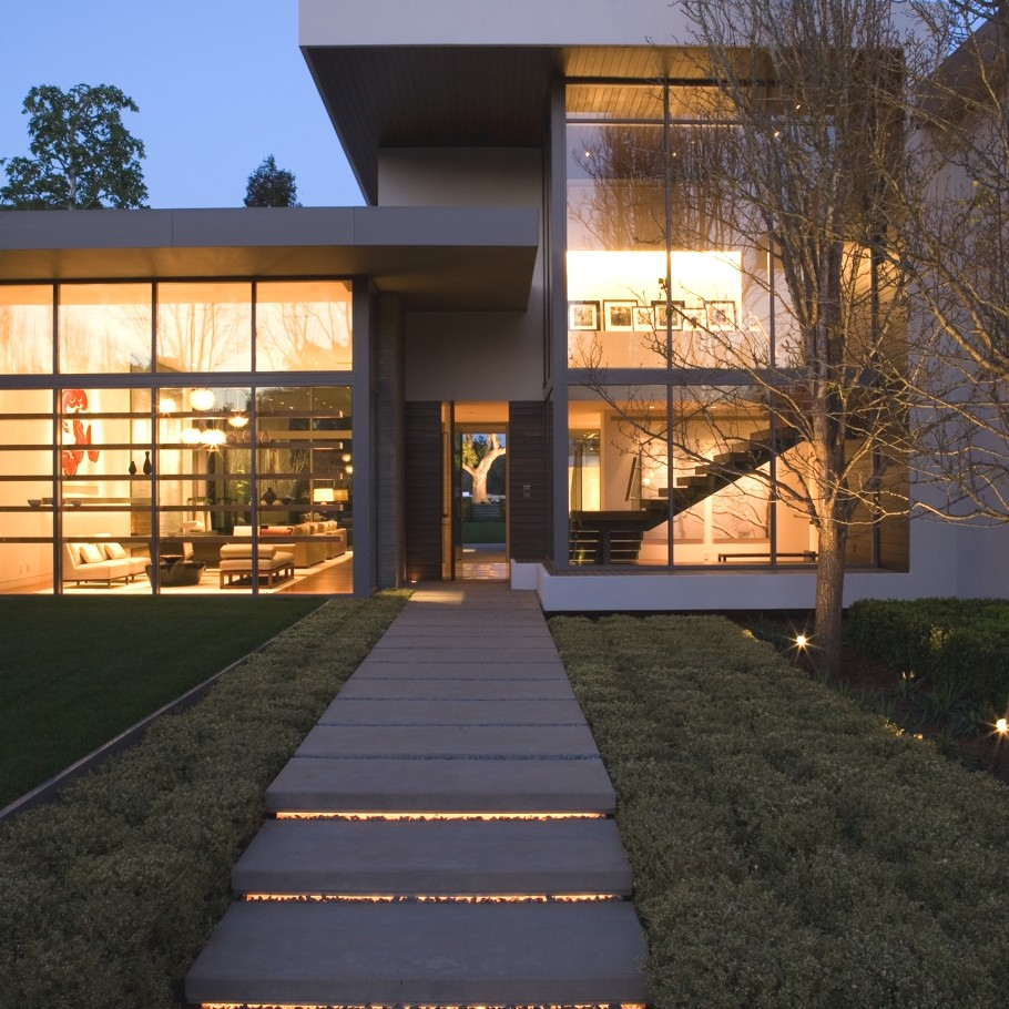 Американские дома: фото стильного особняка Brentwood Residence
