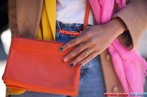 Ногти покрашены в два цвета форум woman