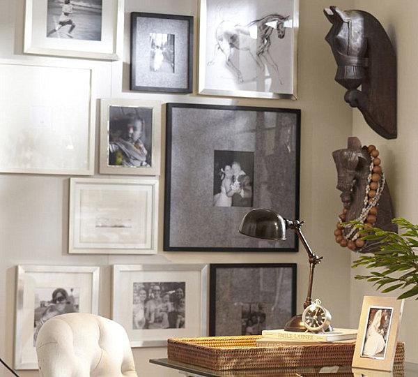 советы по размещению фотографий на стенах