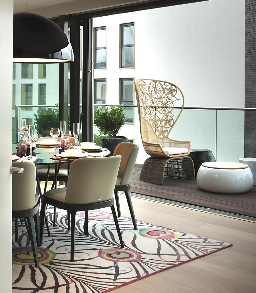 Роскошный дизайн пентхауса в Лондоне