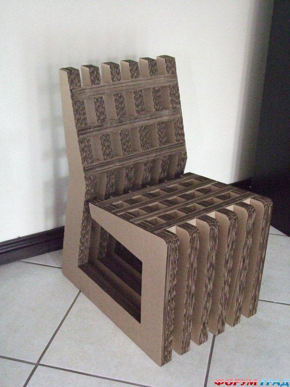 Выкройка мебели картона своими руками фото 167