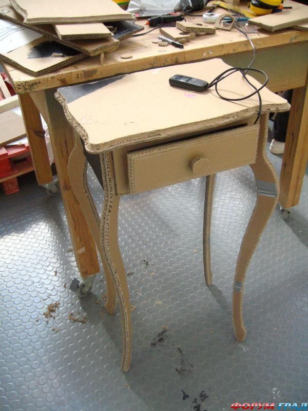 выкройки мебели из картона - Мебель.