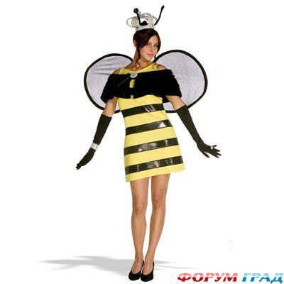 Костюм пчелка своими руками для