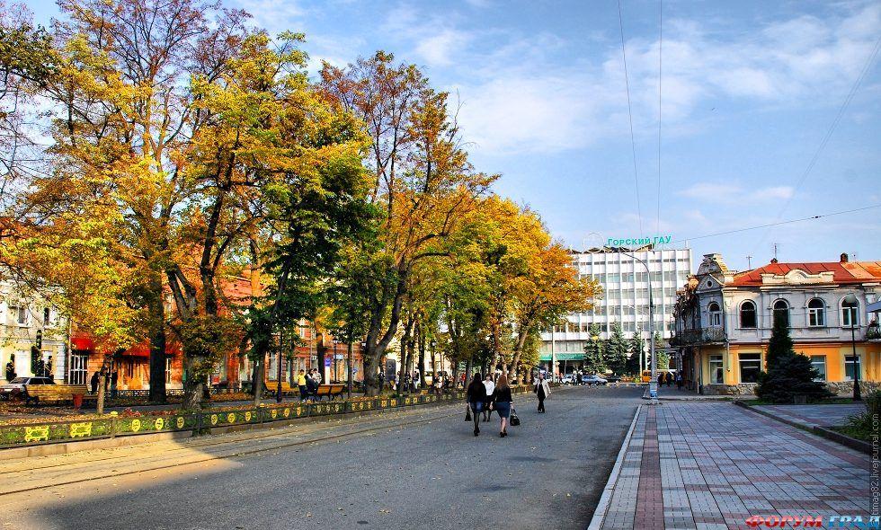 фото владикавказ город воинской славы