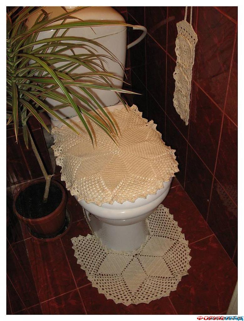 Украшение для туалета своими руками 79
