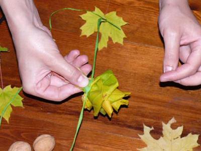Букеты своими руками из природного материала