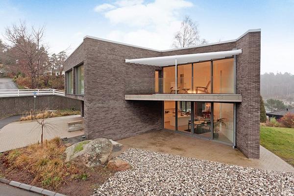 Дома в скандинавском стиле: пятикомнатный элитный коттедж Hovås