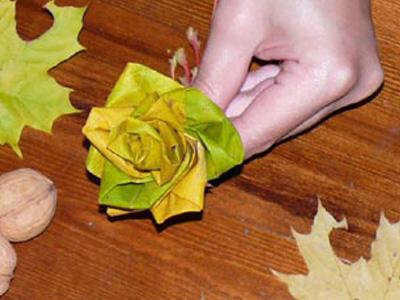 Из листьев своими руками видео