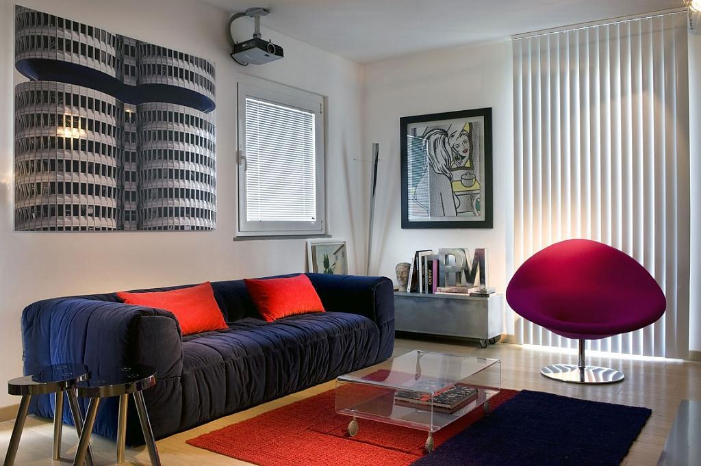 Дома в стиле модерн: эксклюзивный интерьер дома в Риме от Forme D'Arte