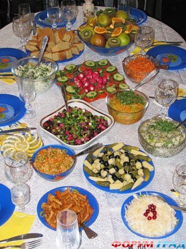 постный праздничный стол рецепты с фото