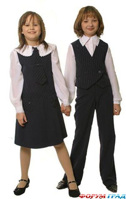 Как сшить школьную форму для девочки по выкройкам Burda 94
