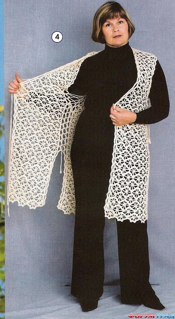 вязание крючком вязание кардиганов для полных
