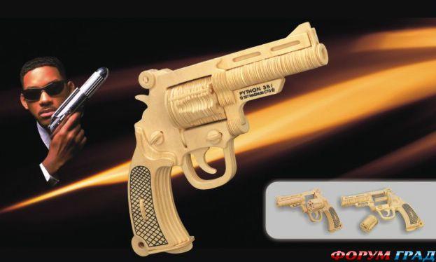 Ружье из дерева для детей