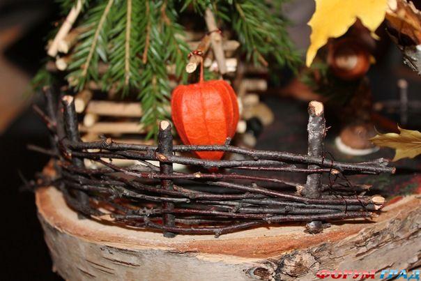 Поделки на тему осень. от Синара.