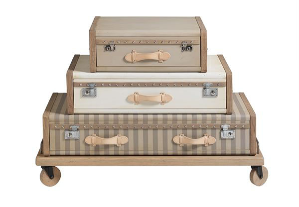 Emmanuelle legavres vintage luggage furniture gallery
