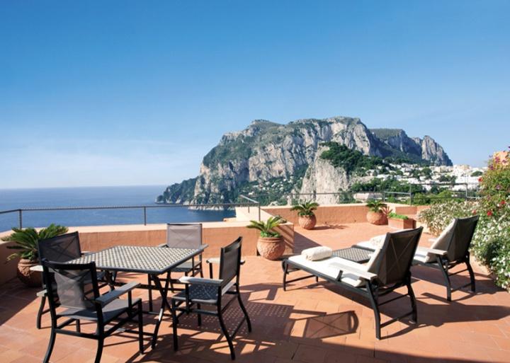 Punta Tragara Hotel на Капри