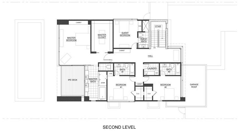Проекты особняков с бассейном: эклектичный и уютный дом от Steven Kent Architect