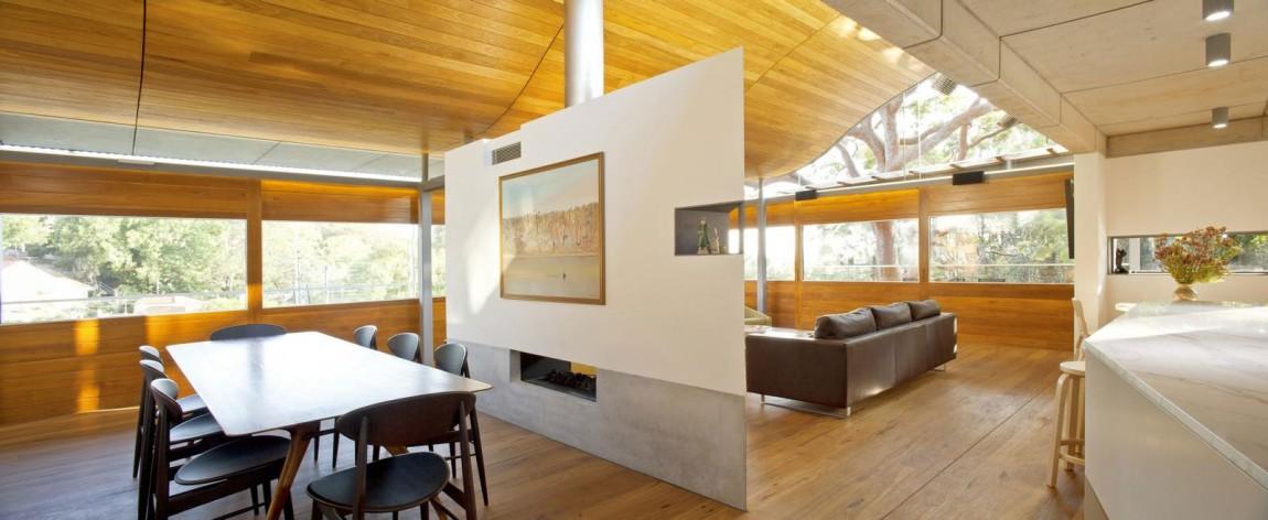 Концептуальный дизайн-проект загородного дома Angophora