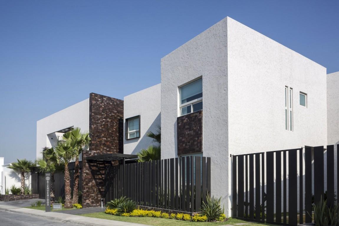 Авторские современные дома: уютный Casa Sorteo Tec № 191 в Мексике