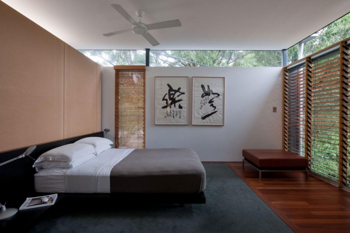 Проект дома: минимализм и уют интерьера от Grove Architects