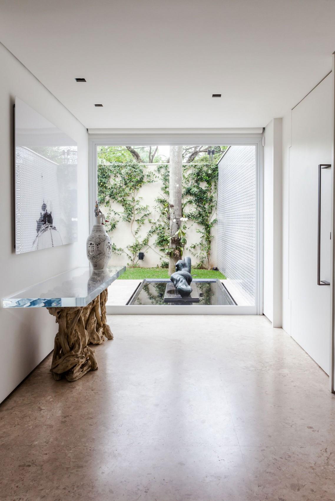 Архитектура и дизайн: проект особняка и галереи современного искусства в Бразилии