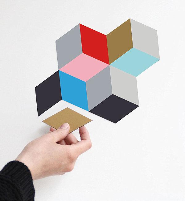 Sessel Design Geometrischen Formen