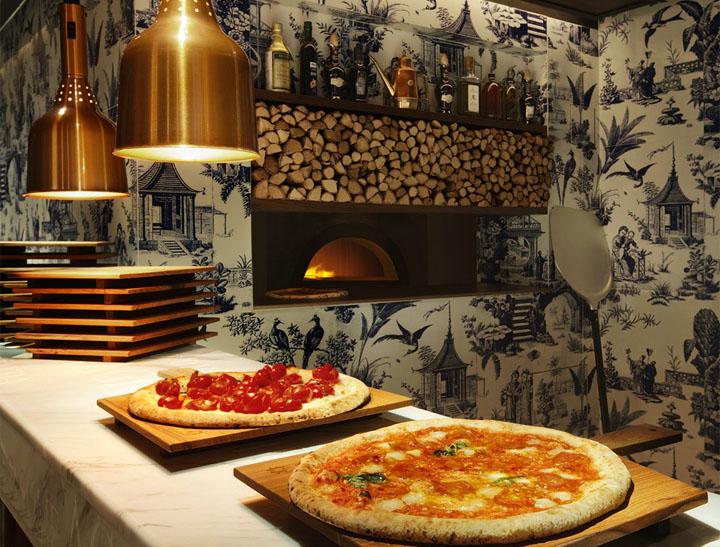 Дизайн итальянского ресторана 208 Duecento Otto