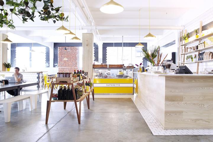 Дизайн ресторана Superettecafe, Кейптаун, ЮАР