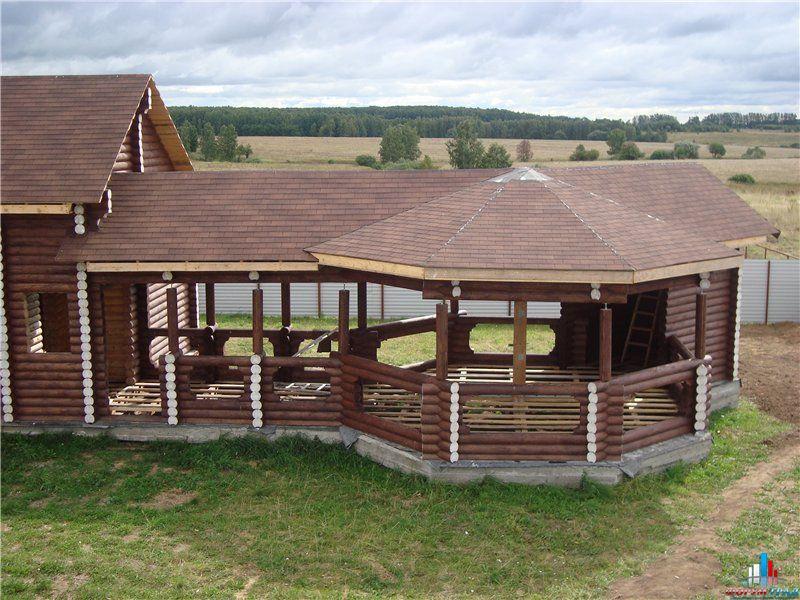 Баня с барбекю под одной крышей своими руками
