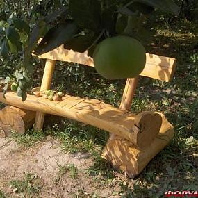 Машинка поделка из дерева: поделки к осени.  О сайте - Поделки из бисера со схемами - Поделки.