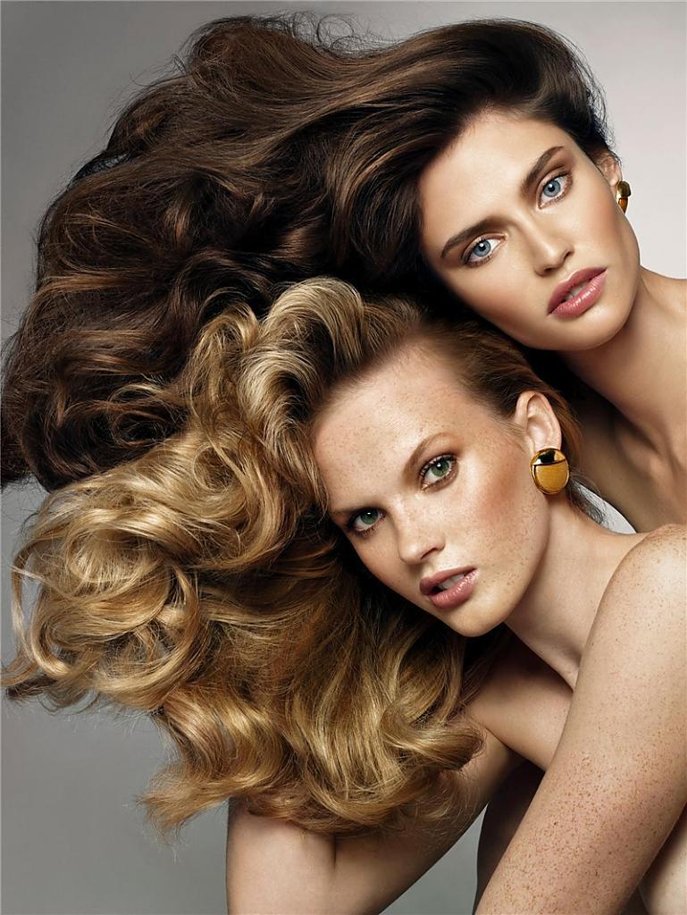 фото девушки с длинными волосами красивые