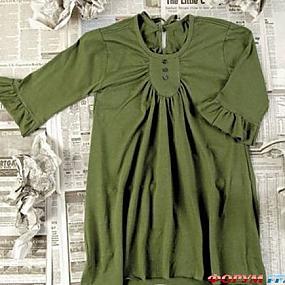Перешиваем старые вещи: туника из футболки фото 1.