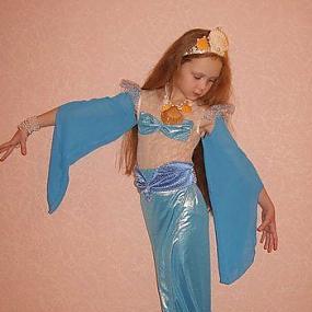 Как сделать костюм русалки своими руками