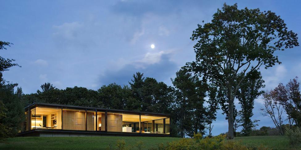 Интерьер гостевого дома: прозрачность, комфорт и энергоэффективность